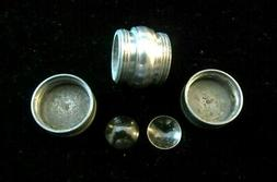 """1950 One of The Early CONTACT LENS Case & Contact Len""""s- Har"""