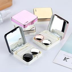 4 in1 Travel Contact Lens Case Box Container Holder Eye Care