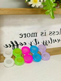 Contact Lens Storage Cases Screw Top Brand New Random Colors