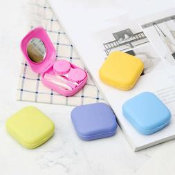Contact Lens Travel Case Mirror Kit Holder Box Remover Appli