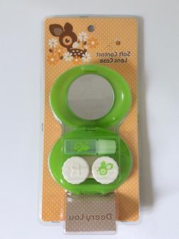 Deery Lou Soft Contact Lens Case Sanrio Kawaii New 2004 Rare