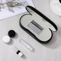ROSENICE Glasses and Contact Lens Case Portable Travel Kit C
