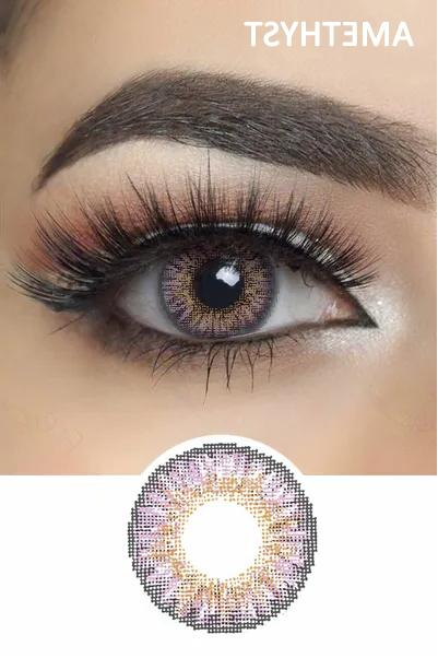 Color Contacts Lenses NEW! Yearly For eyes case