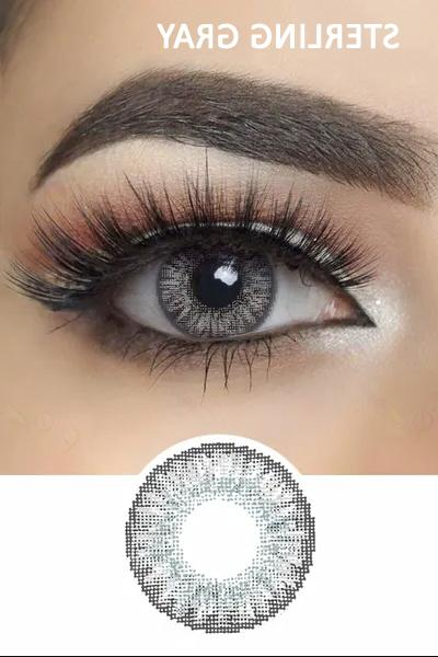 Color Contacts Yearly case Prescription Lens