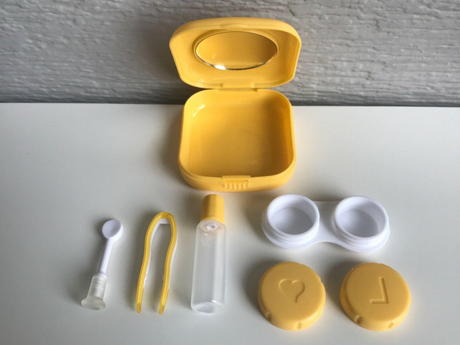 Contact Case Mirror Remover Applicator Tweezers
