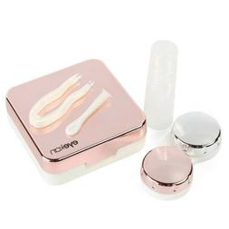 With Mirror -Mirror Surface Container Kit Contact Lens Trave