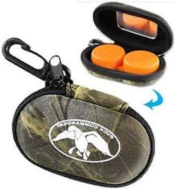 New Duck Commander Contant Lens Case W/ Mirror Realtree Max-