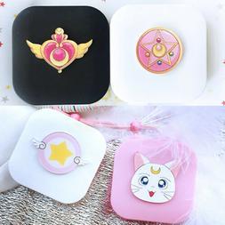 Sailor Moon Luna Contact Lens Case Collectible Mini Plastic
